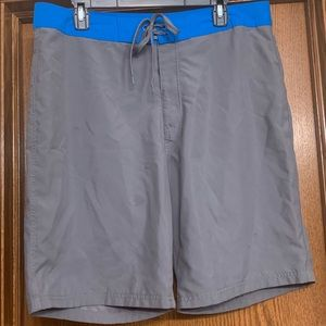 Old Navy Gray Swimsuit Size 36
